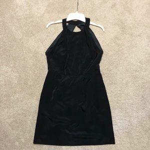 Bcbg generation high neck halter open back dress 6